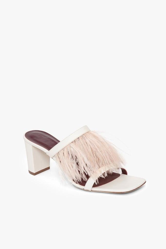Franke Feathered Sandals