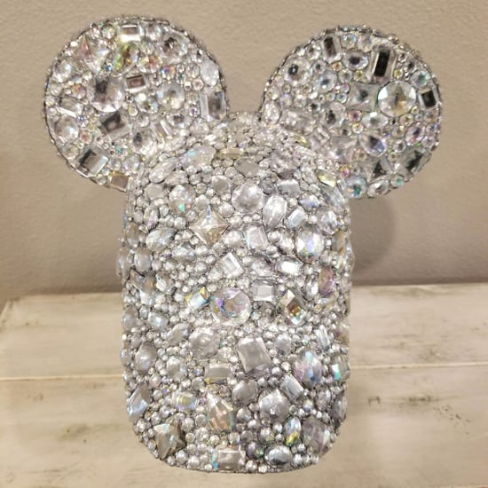 Glittery Mickey Ears Baseball Hats From Etsy