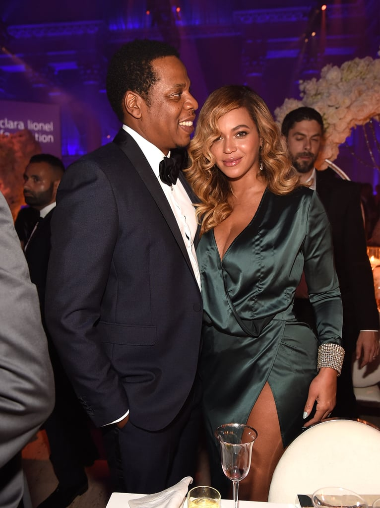 Beyonce and JAY-Z at Rihanna's Diamond Ball 2017