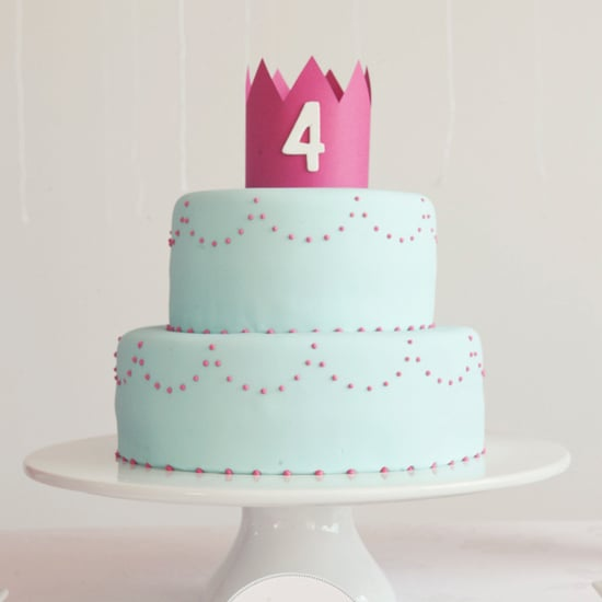 Elegant and Simple Princess Birthday Party