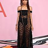 Ciara at the CFDA Fashion Awards in June