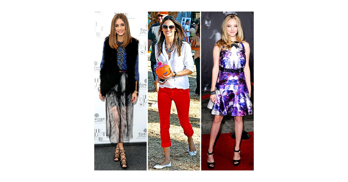 Celebrity Style Quiz For October 17 2011 Popsugar Fashion