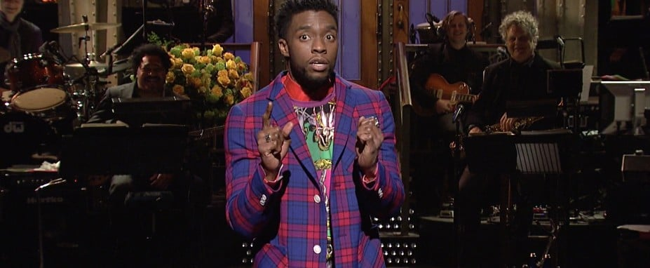 Chadwick Boseman's Opening Monologue on SNL