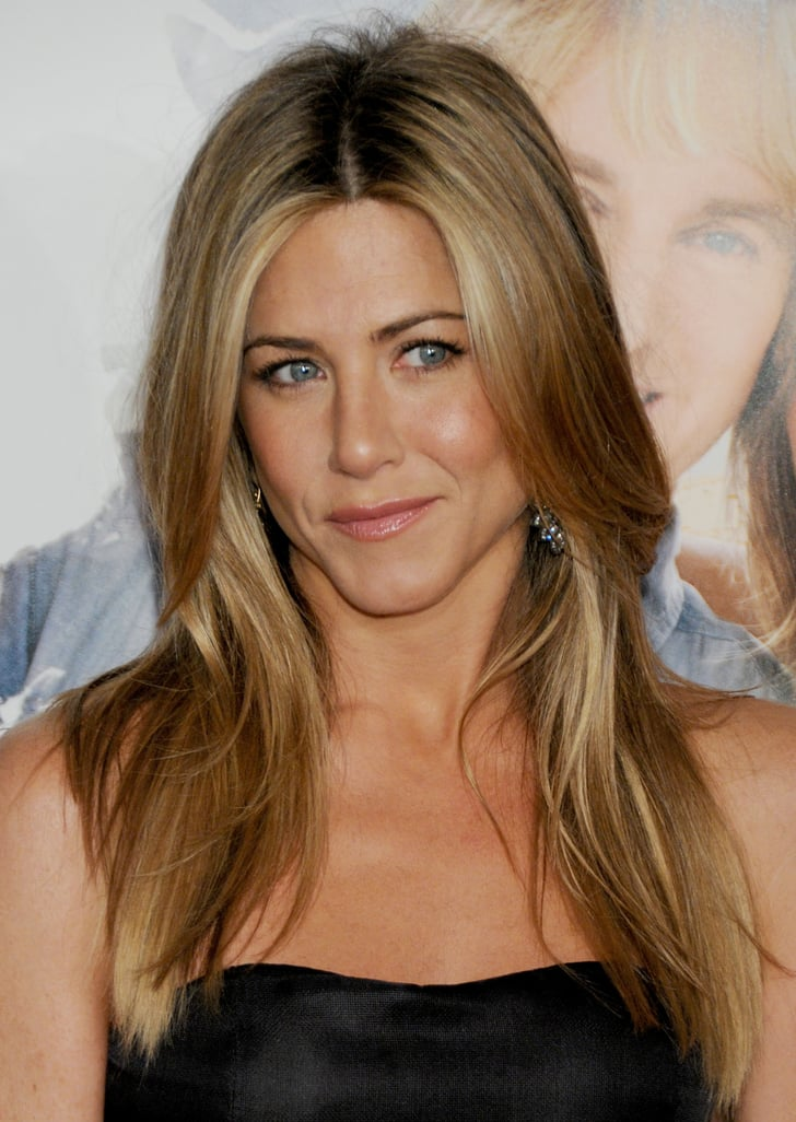 """Jennifer Aniston With """"Brond Hair"""" 