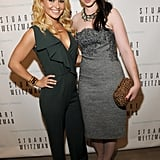 Hayden Panettiere and Michelle Trachtenberg attended a Stuart Weitzman party.