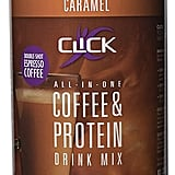 Click Protein & Coffee Drink Mix in Caramel