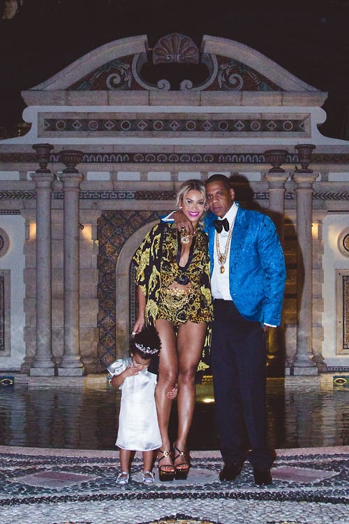 Beyonce and Jay Z Family Pictures