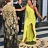 Tiffany Haddish and Frances McDormand at the Oscars 2018