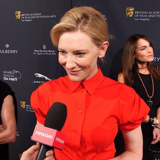 Cate Blanchett Interview 2014 BAFTA Tea (video)