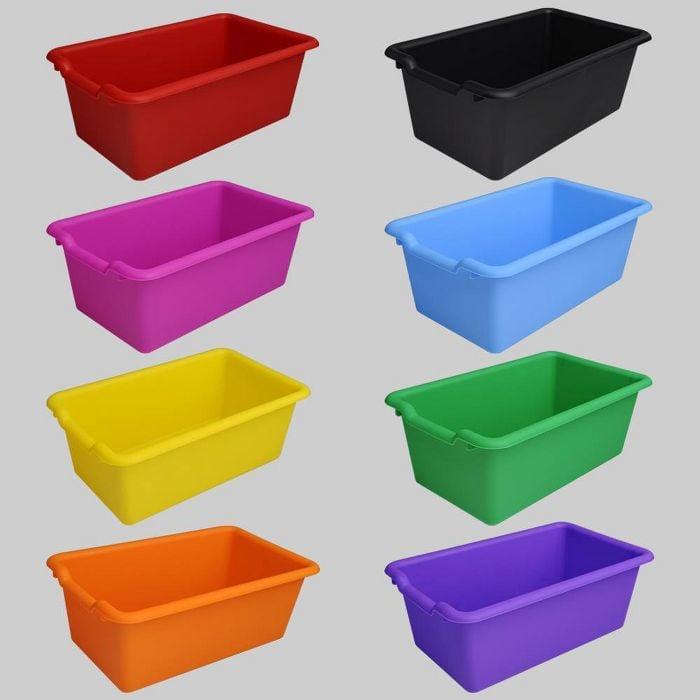 Essential Storage: Bullseye's Playground Plastic Bins