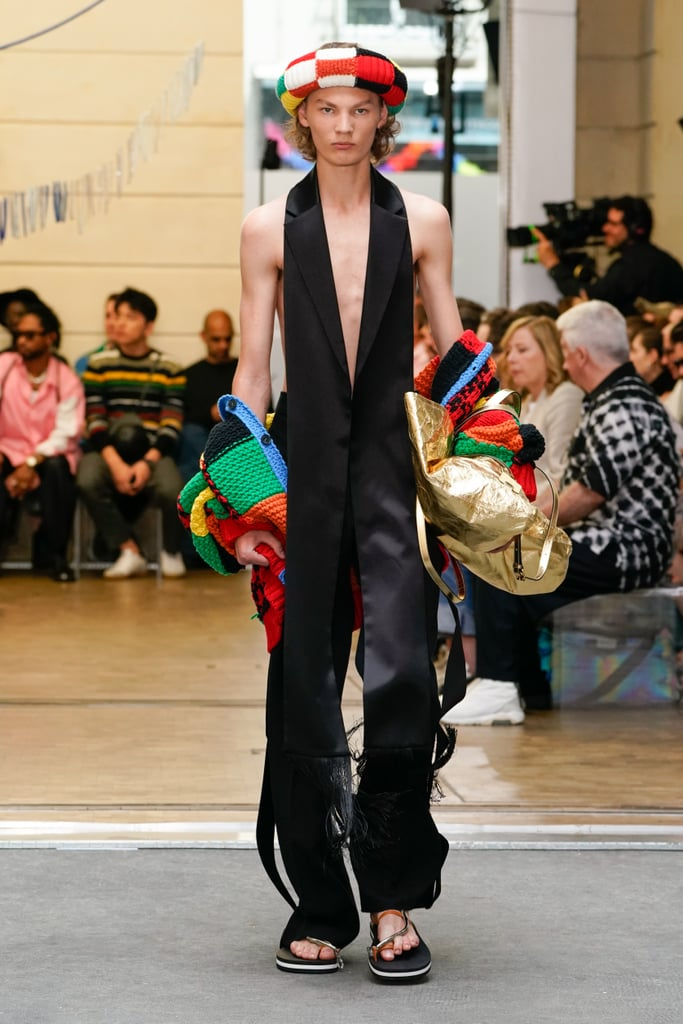 The JW Anderson Menswear Cardigan Debuted on the Spring/Summer 2020 Runway