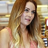 Lauren Conrad chatted with fans.