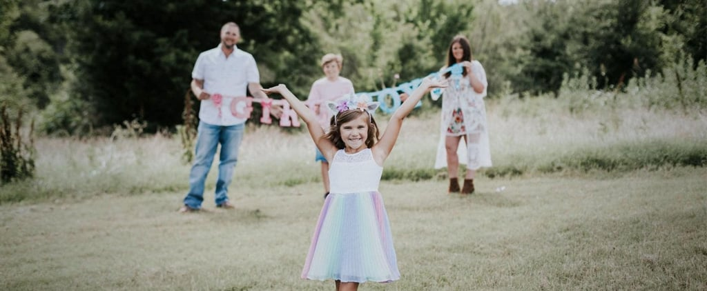 Family Takes Gender-Reveal Photos For Transgender Daughter