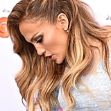 Jennifer Lopez's Pinned-Back Hair in 2015