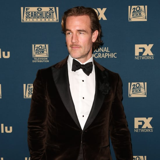 James Van Der Beek Says Baby Wipes Are a Scam