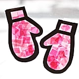 """""""Stained Glass"""" Mittens"""