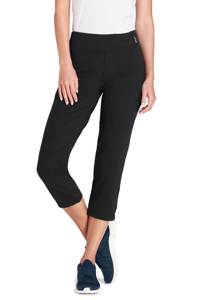 7d01be2fb2476 Lands' End Women's Tall Active Crop Yoga Pant   Best Yoga Pants For ...