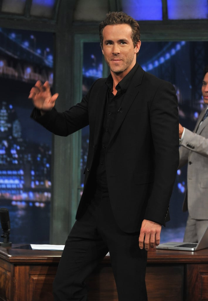 Ryan Reynolds dropped by Late Night With Jimmy Fallon to talk about his new film, The Change-Up.