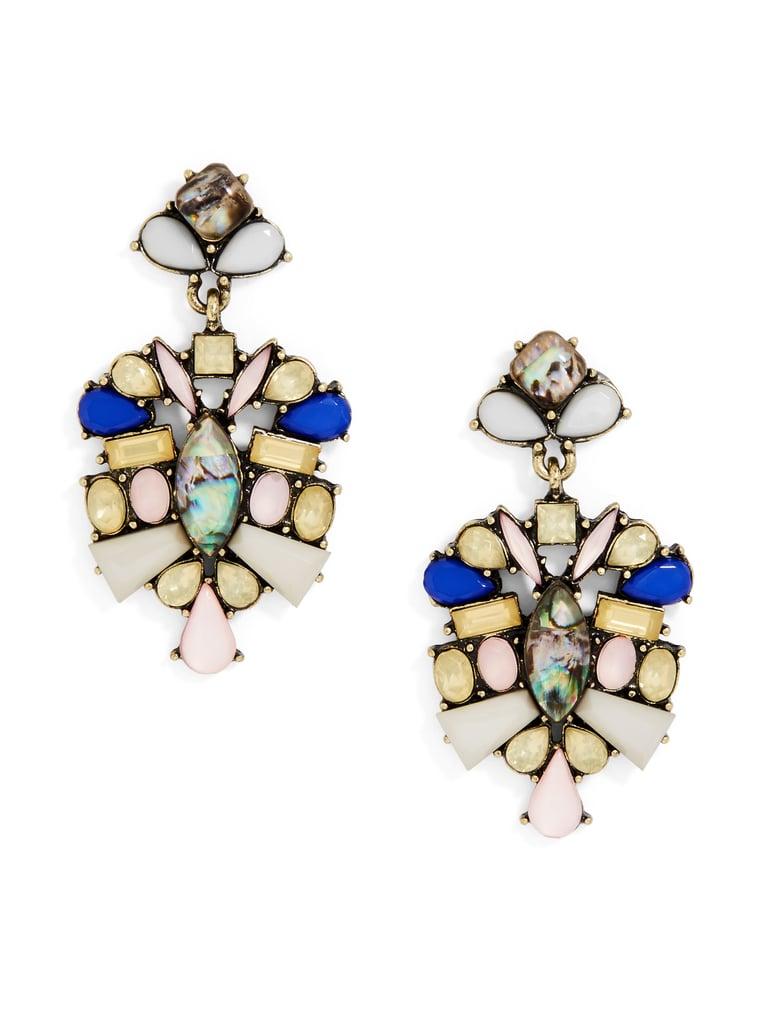SugarFix by BaubleBar x Target Crystal Bouquet Drop Earrings