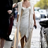Nicole Warne at Paris Fashion Week
