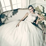 Truly Zac Posen Lace and Tulle Ballgown