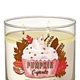 Bath and Body Works Pumpkin Cupcake 3-Wick Candle