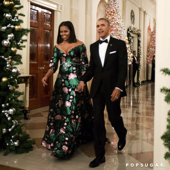 Michelle Obama Gucci Dress 2016 Kennedy Center Honors