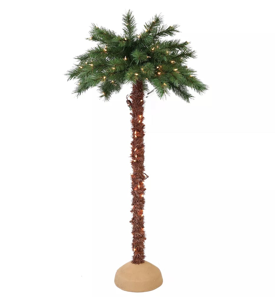 Target 6-Foot Pre-Lit Artificial Christmas Palm Tree