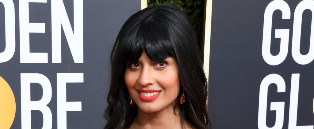 Jameela Jamil Golden Globes Gown 2019