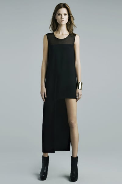 Dress With Asymmetrical Hem ($90)