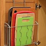 SimpleHouseware Over-the-Cabinet Door Organizer Holder