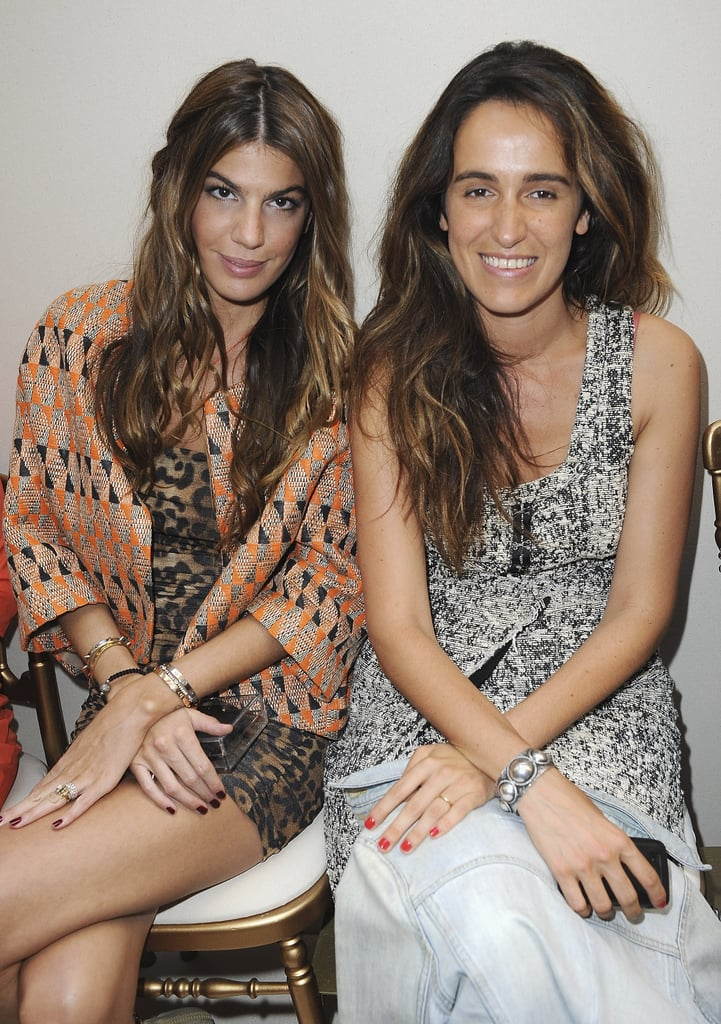 Bianca and Coco Brandolini D'Adda at Giambattista Valli