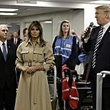 Melania Trump's Trench Dress