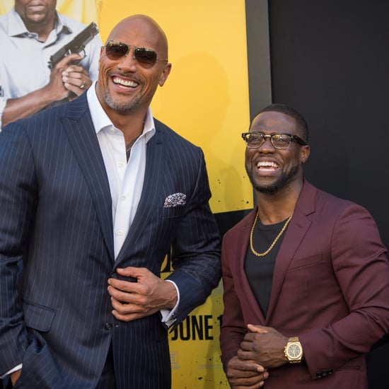 Dwayne Johnson and Kevin Hart Impersonate Each Other | Video