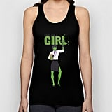 She-Hulk // Fight Like a Girl UNISEX TANK TOP BLACK X-SMALL UNISEX TANK TOP ($22)