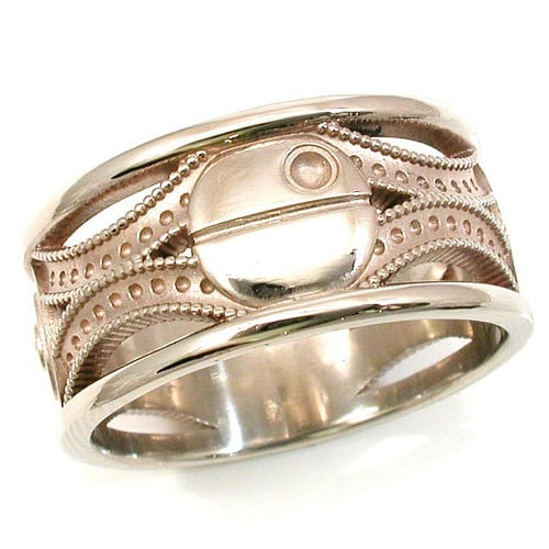 wedding bands fit for mr star wars himself - Unusual Mens Wedding Rings