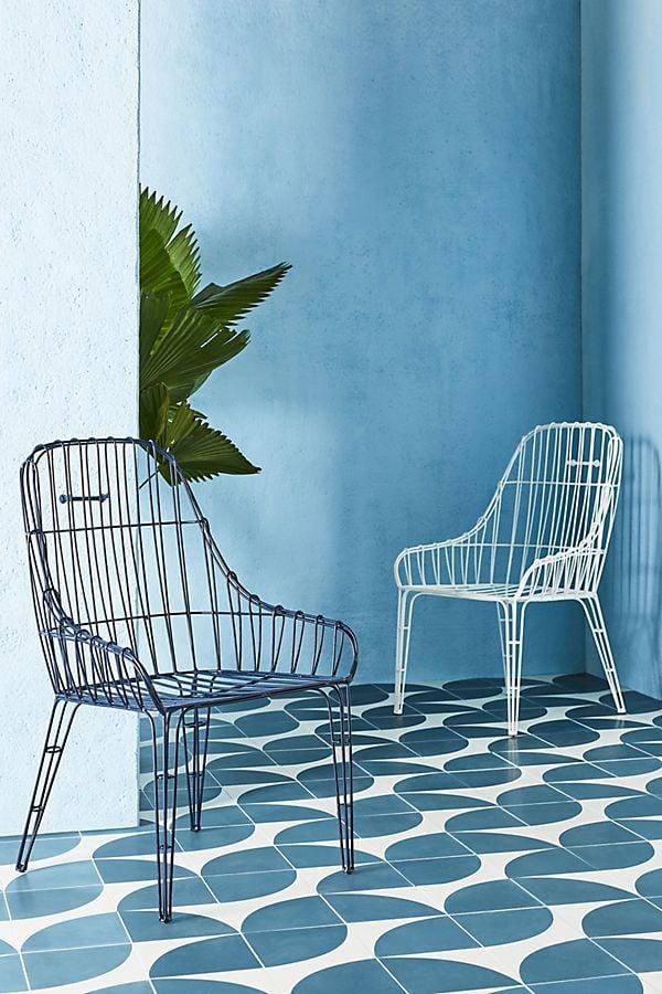 Wire Elowen Indoor/Outdoor Dining Chairs