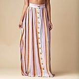 Montce Mallorca Stripe Cotton Edith Skirt