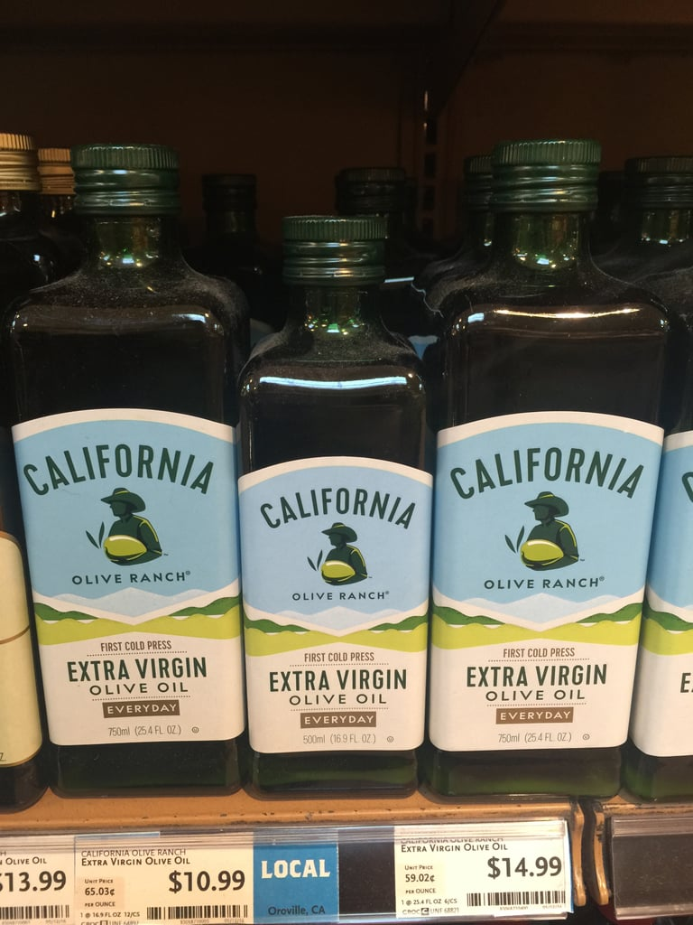 Best Whole Foods Product: California Extra Virgin Olive Oil ($11)