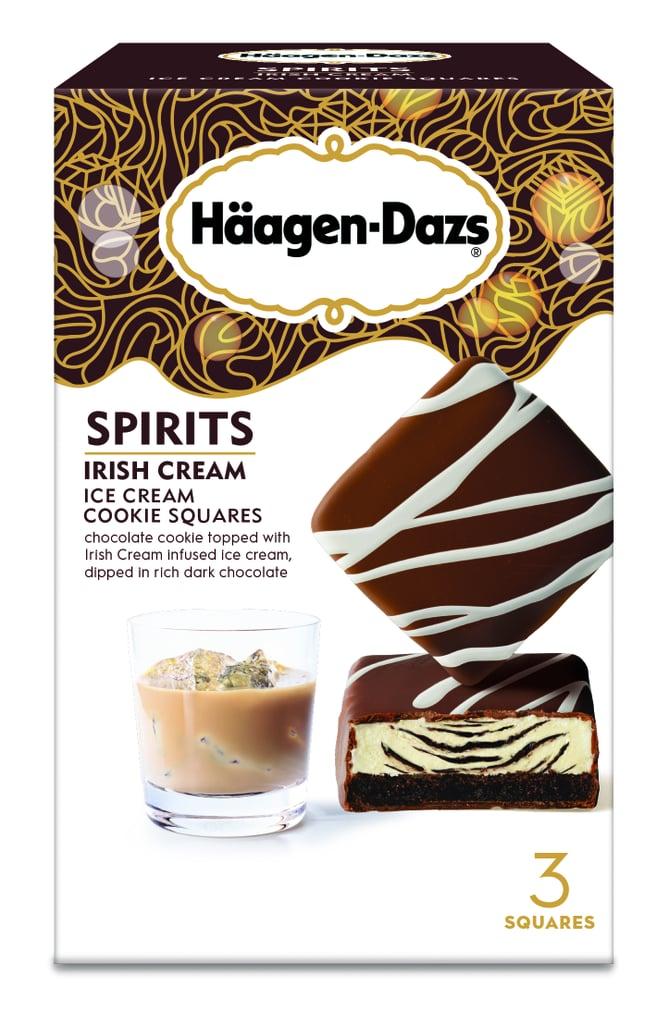 Irish Cream Ice Cream Cookie Squares
