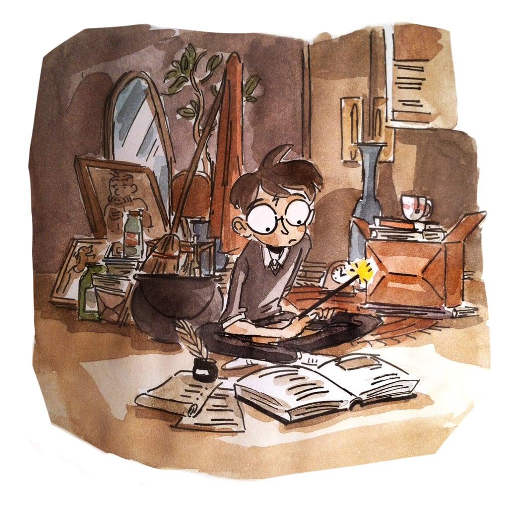 Studying Magic at 4 Privet Drive