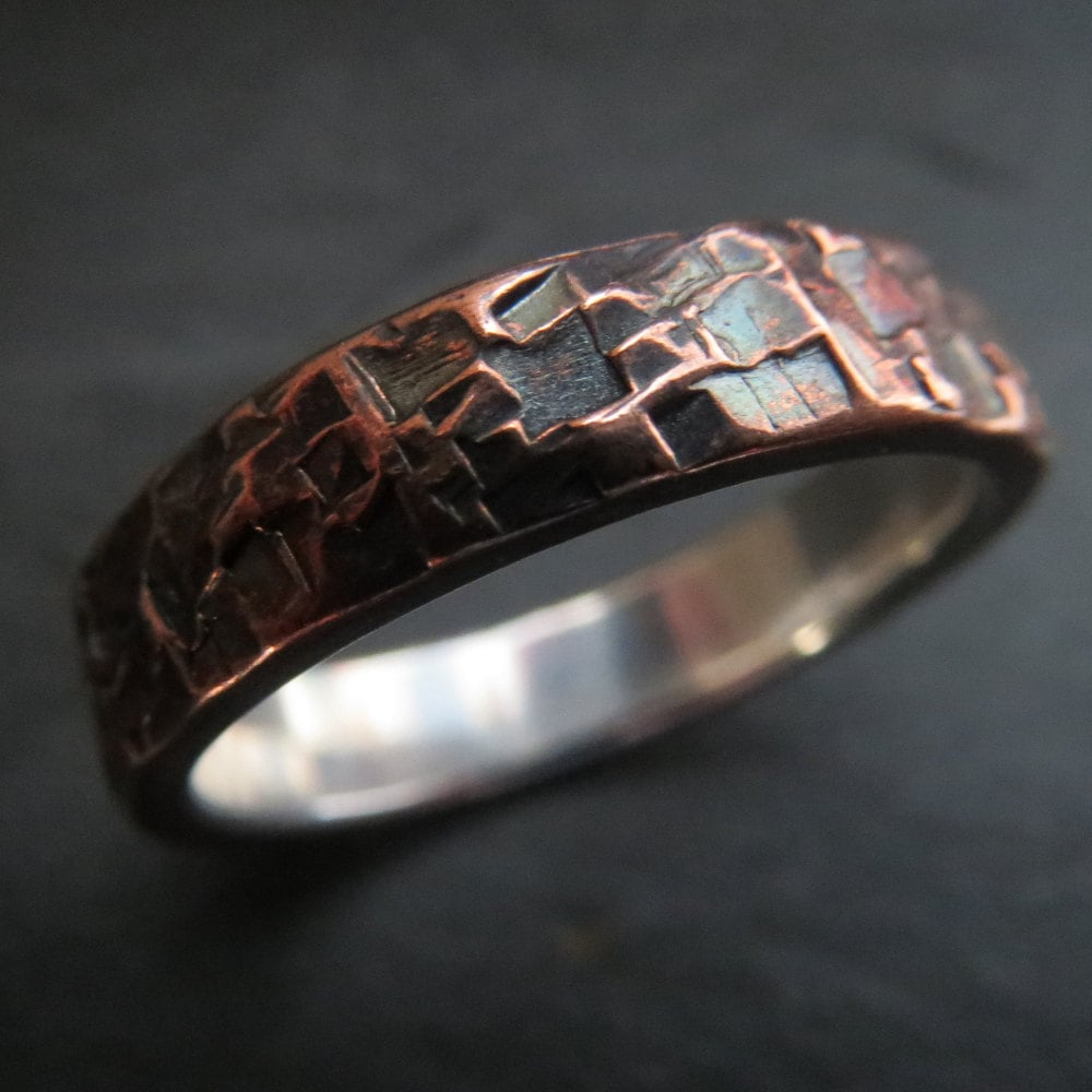 unique engagement rings for men popsugar love sex - Steampunk Wedding Rings