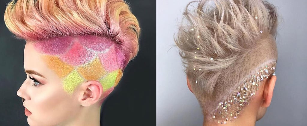 Rainbow Undercut Inspiration