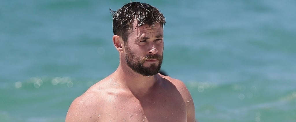 Chris Hemsworth Shirtless Pictures