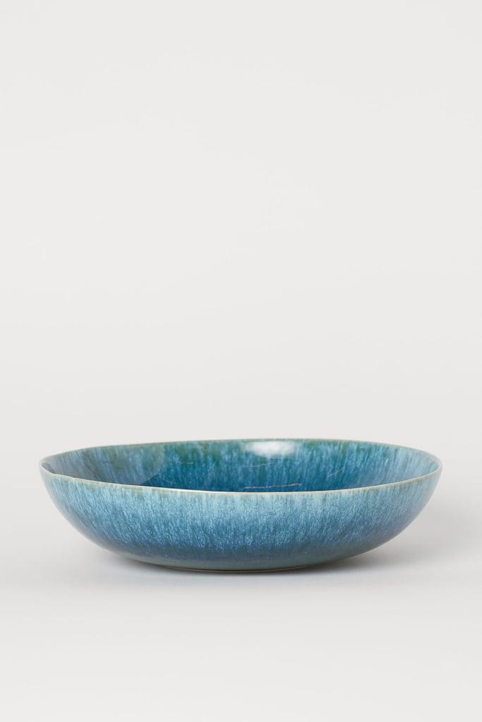 Large Stoneware Serving Bowl Best H M Home Products Summer 2019 Popsugar Home Uk Photo 77