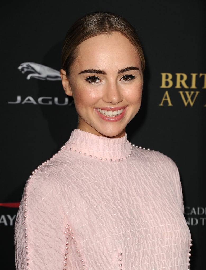 Who she is: Suki Waterhouse How you know her: She's a model who recently starred in the latest fragrance ad for Burberry. Oh, and she just so happens to be dating Bradley Cooper. Why we love her: Step aside, Cara Delevingne. Suki's got brows we go crazy for, and her red carpet looks have been increasingly elegant.