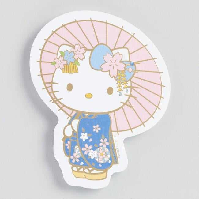 Hello Kitty Die Cut Notepad