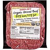 Organic Grass-Fed Ground Beef ($7)