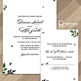 Leaf Wedding Invitation