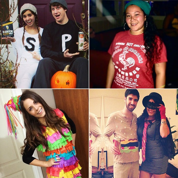 Cheap Homemade Food-Themed Halloween Costumes  sc 1 st  Popsugar & Cheap Homemade Food-Themed Halloween Costumes | POPSUGAR Food